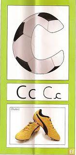 Alfabeto Inspirado en el Fútbol. | Oh my Alfabetos!