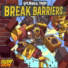 """Seattle's own Yungg Trip drops his latest EP """"Break Barriers"""" which truly lives up to its name, featuring a mammoth collaboration with Flex Up Crew's As We Warrior King, Albums, Comic Books, Cartoons, Comics, Comic Book, Graphic Novels, Comic"""