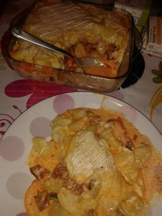 Spanish Tartiflette: Recipe of Tartiflette to Spanish - Mar . - Spanish Tartiflette: Recipe of Tartiflette to Spanish – Mar … - Chorizo, Tartiflette Recipe, Cuisine Diverse, Pasta, Food And Drink, Gluten Free, Chicken, Meat, Cooking