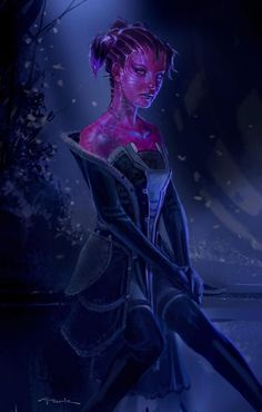 Carrina, the Collectors Assistant - Guardians of the Galaxy Concept Art by Andy Park