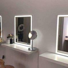 Espejo de maquillaje estrellas decoraci n decoraci n for Espejo para maquillarse