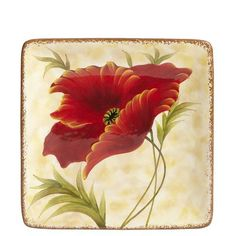 Assorted Poppies Dinnerware