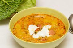 A frankfurti leves olyan gazdag, hogy akár főétel is lehetne. Diet Recipes, Cooking Recipes, Healthy Recipes, Baked Rigatoni, Best Meatballs, How To Make Sausage, Hungarian Recipes, Hungarian Food, Food Words