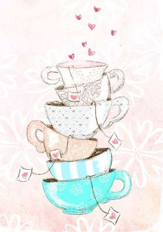 Find images and videos about pink, wallpaper and tea on We Heart It - the app to get lost in what you love. Cute Wallpapers, Wallpaper Backgrounds, Iphone Wallpaper, Tee Kunst, Buch Design, Illustration Mode, Make Pictures, Tea Art, Alice In Wonderland