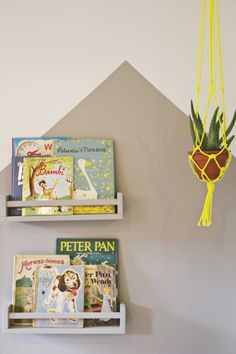 ikea book shelves playroom