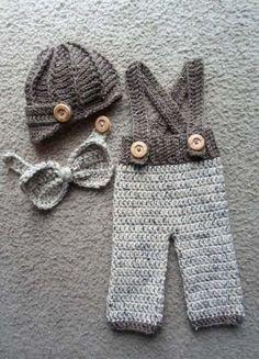 cotton newborn Beanies ,crochet Baby Newsboy caps,Bow tie with pants baby sets, baby hat ,Newborn crochet Photography Prop(China (Mainland)) Mehr Crochet Pants, Crochet Baby Clothes, Newborn Crochet, Crochet Baby Hats, Baby Knitting, Cotton Crochet, Baby Set, Newborn Beanie, Beanie Babies