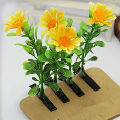 Cuhair(tm) Cute Girl Baby Plant 10pcs Manga Bean Sprouts Flower Design Hair Clip Claw Pin Bangs Clip Barrettes Accessories ** You can find out more details at the link of the image.