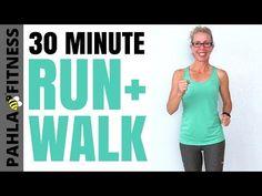 30 Minute Indoor RUN + WALK (5 Min Run + 1 Min Walk Intervals) | The SECRET to My RUNNING Success - YouTube