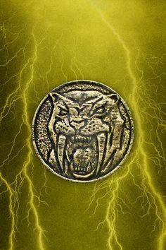 MMPR Yellow Ranger STT Coin iPhone Wallpaper by RussJericho23.deviantart.com on @deviantART
