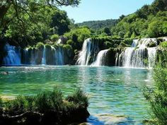 Hermoso paisaje de croacia!!!