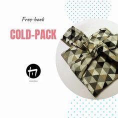 Gratis Anleitung um ein Cold-Pack schick zu verpacken. Freebies, Free Books, Cold, Design, Chic, Packaging, Tutorials, Tips