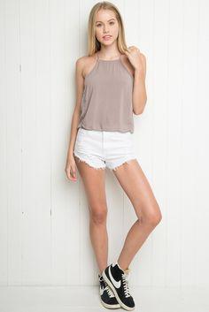 Brandy ♥ Melville | Kiara Tank - Tanks & Halters - Tops - Clothing  those blazerrrssss <3