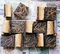 Salted caramel & peanut butter billionaire's slice recipe - Recipes - BBC Good Food