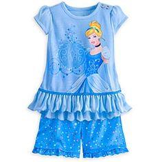 Cinderella Short Sleep Set for Girls