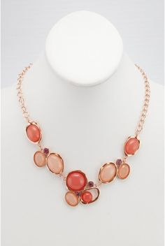 Type 1 Just Peachy Necklace