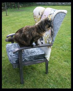 How to re-upholster an old Parker Knoll wingback chair