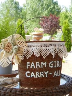 Farm Girl Carry-All