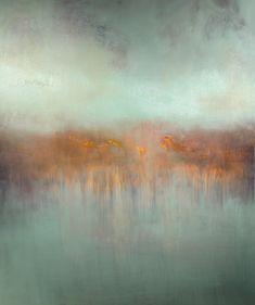 "Saatchi Online Artist: Maurice Sapiro; Oil 2013 Painting ""Fog Lifting"""