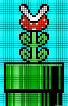 Learn to make your own colorful bracelets of threads or yarn. Melty Bead Patterns, Pearler Bead Patterns, Perler Patterns, Beading Patterns, Fuse Beads, Perler Beads, Cross Stitch Designs, Cross Stitch Patterns, Super Mario Bros