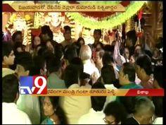 CM Kiran and Chandrababu attend Ghanta daughter's wedding