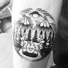 """33 Tatuajes increíbles inspirados en """"Twin Peaks"""""""