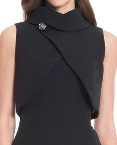 Popover Cocktail Dress - Source by dress cocktail Neckline Designs, Dress Neck Designs, Blouse Designs, Fashion Details, Fashion Design, Fashion Trends, Fashion Tips, Casual Dresses, Fashion Dresses