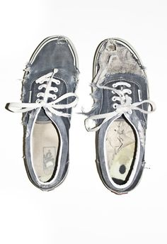I remember my Vans, almost getting this bad... and my mom... tossing them out and having me get another pair. Problem is, that is when Vans are at their best.... broken in.