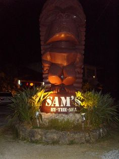 Must eat at Sams by the sea, Okinawa, Japan. This was our favorite restaurant when we lived on Okinawa. We ate here 2-3x/weekly and the only menu item I had was lobster Thermidor. What a lucky kid I was.