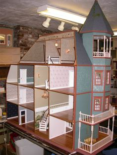 Glencliff Dollhouse Kit More