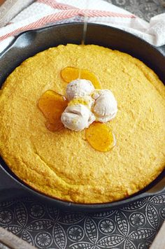Pumpkin Cornbread with Maple Cinnamon Butter http://www.somethingswanky.com/pumpkin-cornbread-maple-cinnamon-butter/?utm_campaign=coschedule&utm_source=pinterest&utm_medium=Something%20Swanky&utm_content=Pumpkin%20Cornbread%20with%20Maple%20Cinnamon%20Butter