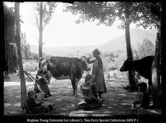 George Edward Anderson Photographs. He is amazing. This photo was taken around 1900 in Huntington, Utah. From L.Tom Perry Special Collections, BYU