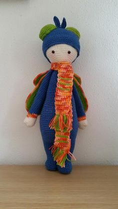 BUZZ the house fly made by Yt H. / crochet pattern by lalylala