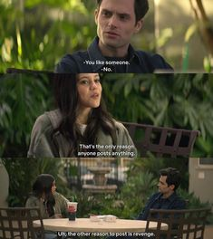 Tv Show Quotes, Movie Quotes, Movie Lines, 2018 Movies, Romance Movies, Liking Someone, Revenge, Tv Shows, Instagram