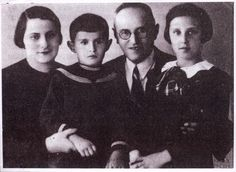 Vilna, Poland, The Shor family, who perished in the Holocaust.