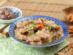 Steamed Pork with Shrimp Paste