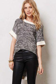 Anthropologie - Sweaters & Sweatshirts [grey sweater leather pants]