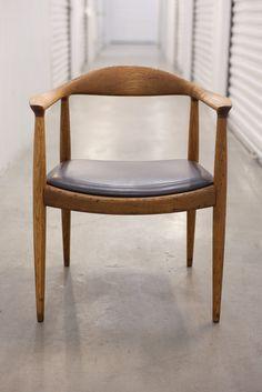 Vintage Hans Wegner Round Chair
