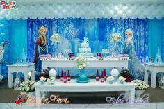 decoracion-con-globos-frozen | Curso de organizacion de hogar ...