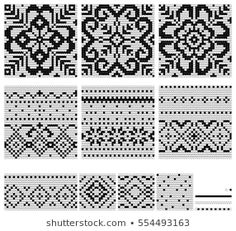 Norwegian Patterns For Knitting Hat With Traditional Norwegian Pattern Design Norwegian Patterns For Knitting How To Do Twined Knitting Arne Carlos. Fair Isle Knitting Patterns, Fair Isle Pattern, Knitting Charts, Free Knitting, Embroidery Patterns Free, Crochet Patterns, Norwegian Knitting Designs, Scandinavian Embroidery, Pattern Design