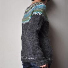 Afmaeli by Védis Jonsdottir, as knit by bouillesdecoton...