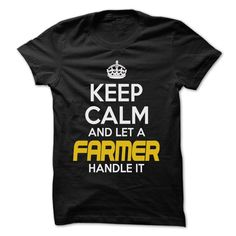 (Tshirt Popular) Keep Calm And Let Farmer Handle It Awesome Keep Calm Shirt at Tshirt Best Selling Hoodies, Tee Shirts