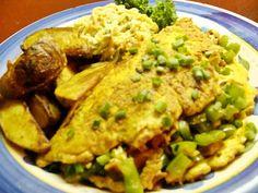 Vegan Denver Omelet from Betty Goes Vegan via Notes from the Vegan Feast Kitchen/ 21st Century Table