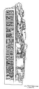 Copan stela a