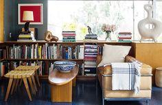 Dentro Midcentury Abode de David Netto