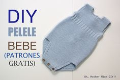 TEJER: PELE DE BEBE DIY (PATRONES GRATIS) Conoce más sobre de los bebés en somosmamas.com.ar.