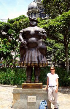 Open air museum, Medellín! – QUO VADO ?! Garden Sculpture, Buddha, Statue, Outdoor Decor, Fernando Botero, Museum, Colombia, Sculptures, Sculpture