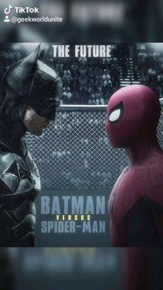 Credit: venomhology Batman Vs Spiderman, Superhero, Future Batman, Batman Versus, Who Will Win, Avengers Wallpaper, Marvel Universe, Iron Man, Deadpool