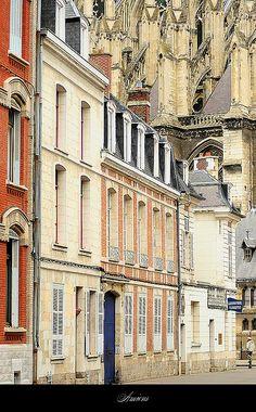 Historic Amiens, Picardie, France