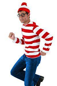 Waldo Adult Costume Kit