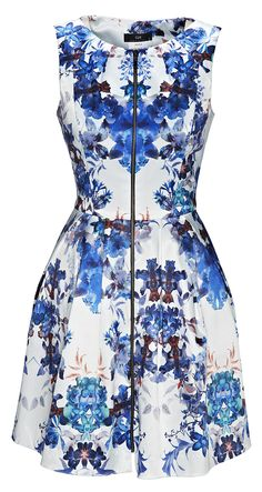 Dress from Cue. #kaleidoscope is trending at Westfield New Zealand.